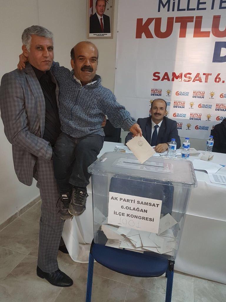 AKP 6. olağan İlçe Kongresi Cüce