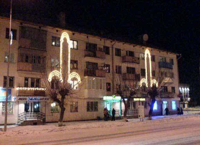 Apartmana Işıkları ilePenis Resimleri