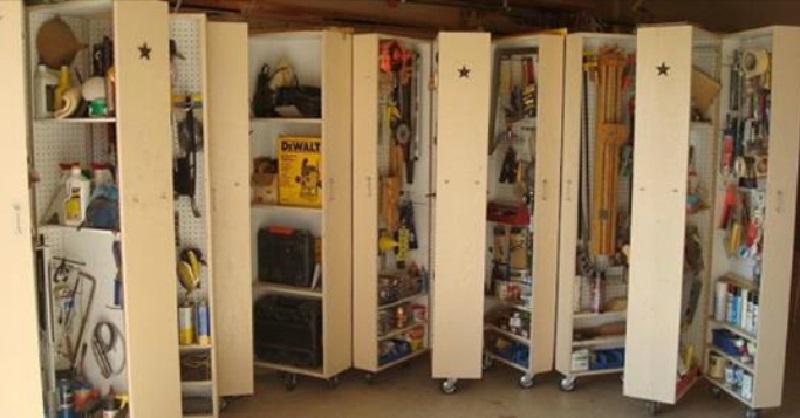 15 idees de rangements pour que votre garage soit la piece la plus organisee de la maison
