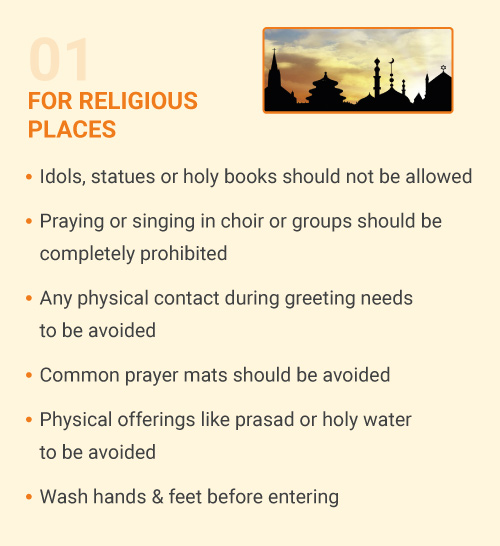 For Religious Places