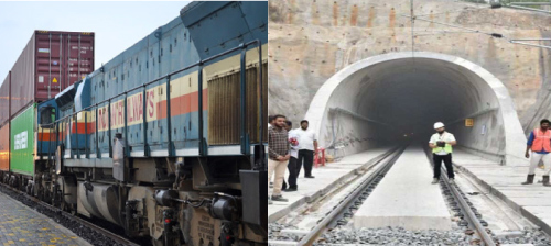 Indian Railways To build world's first electrified tunnel for double-stack containers