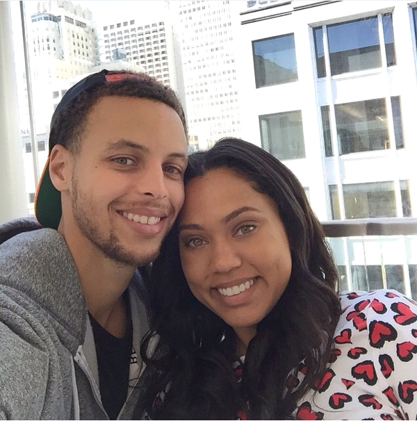 christian wife ayesha curry celebrating her man