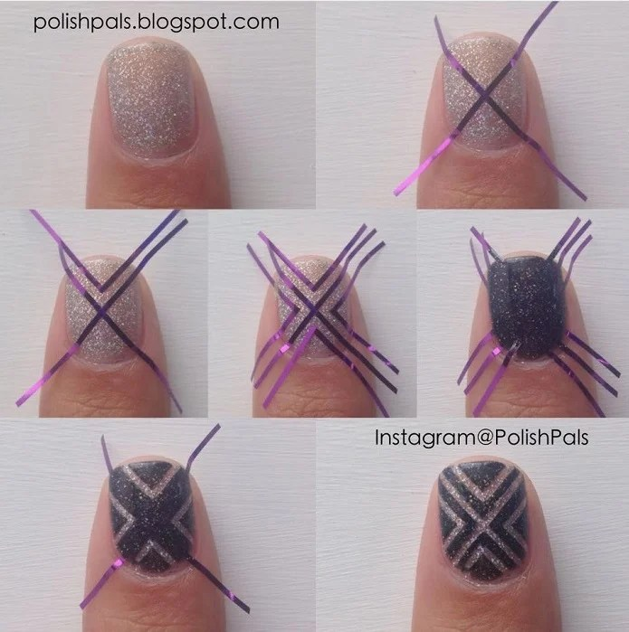 20 Beautiful Easy Nail Art Ideas To Do At Home
