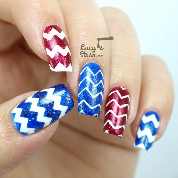 Beautiful Easy Nail Art 5