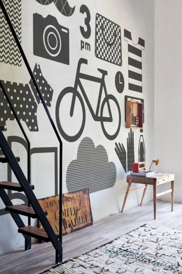 Interior Design Graphic Walls