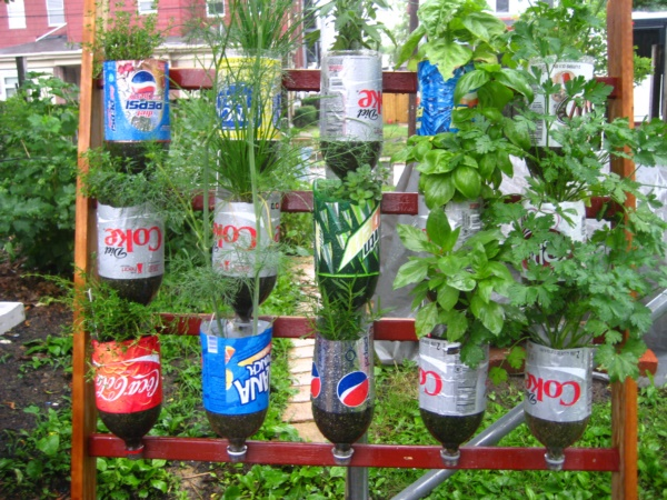 Recycled Plastic Bottles Gardening Ideas Recycled Things