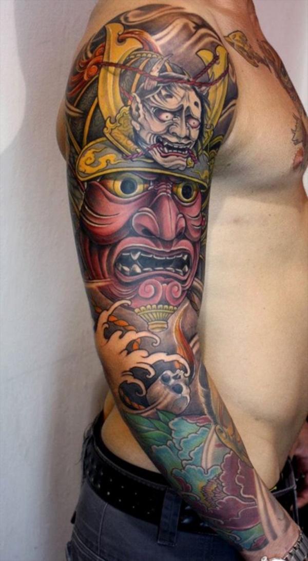 cool japanese sleeve tattoos