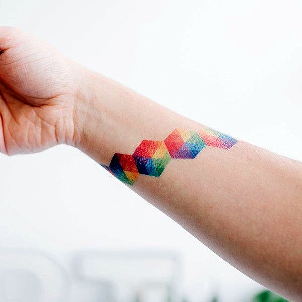 Rainbow Tattoo Designs