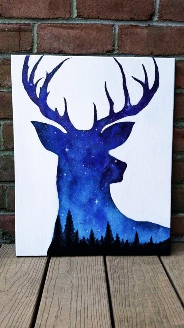 Deer Paintings Easy