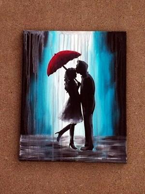 Canvas Painting Ideas Pinterest