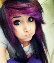 cute emo hairstyles teens