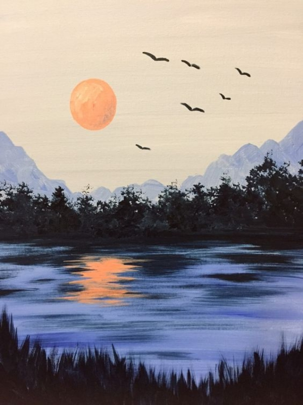 simple and easy landscape painting