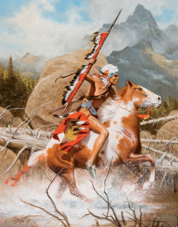 Fall In Love With Me Wallpaper 10 Best Native American Paintings And Art Illustrations