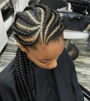 lovely ghana braid hairstyles