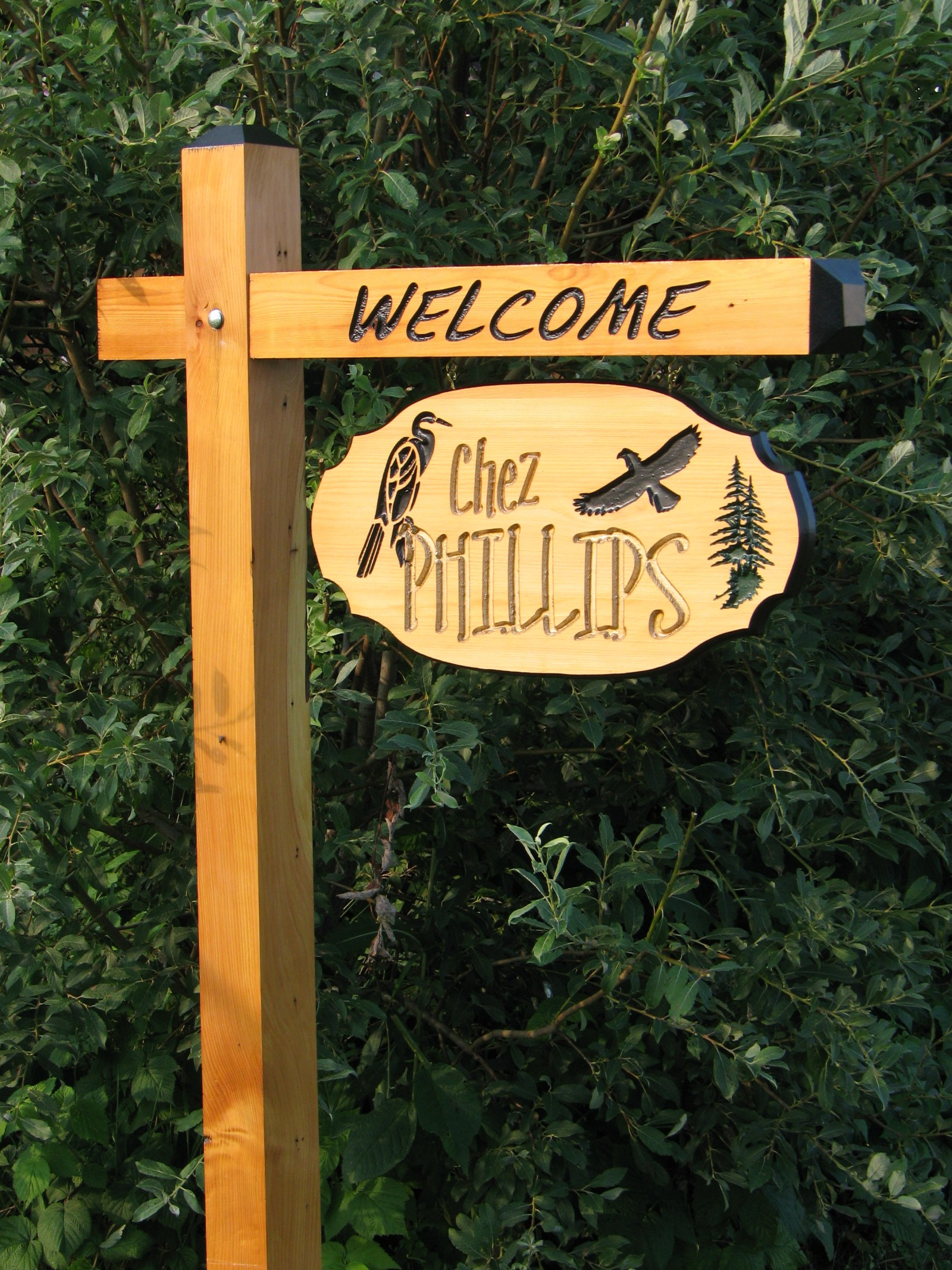 Buzzart  Canada's Custom Engraved Cottage Sign And House