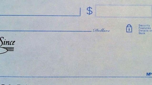 check authorized signature