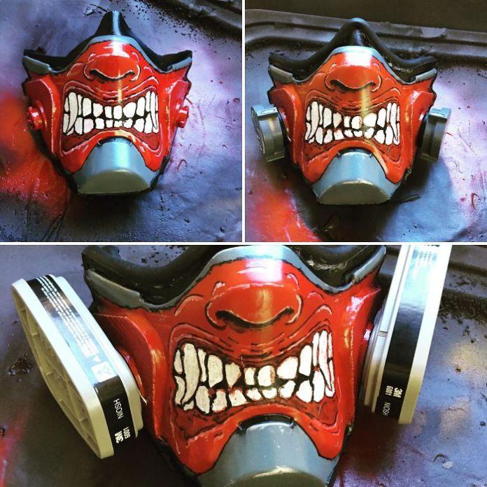 creative mask covid