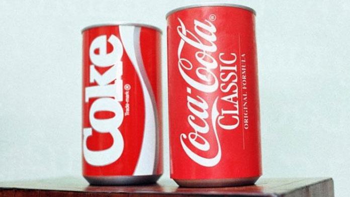 coca cola new formula