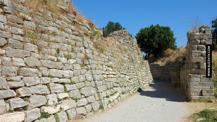 wall of troy