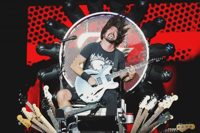 Foo Fighters at the Forum (Photo by Michelle Shiers)