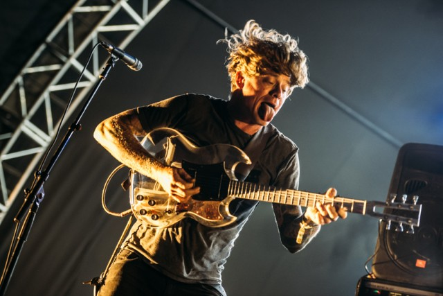 Thee Oh Sees at FYF Fest (Photo by Zane Roessell)