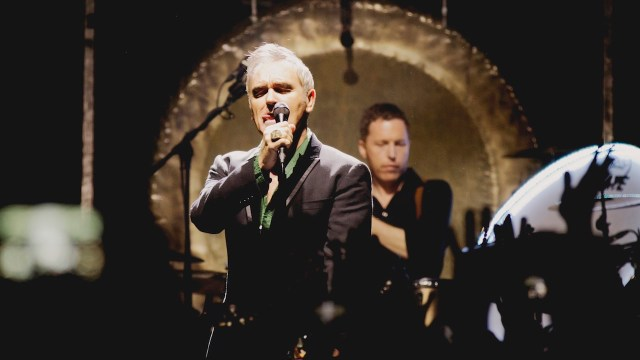 Morrissey at the Galen Center (Photo by Michelle Shiers)