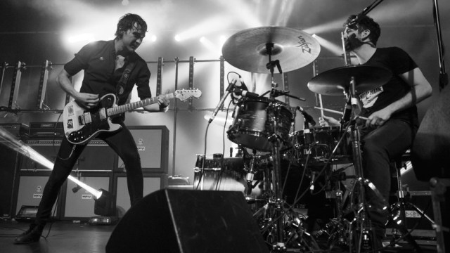 Japandroids at the Fonda Theatre (Photo by Samantha Saturday)
