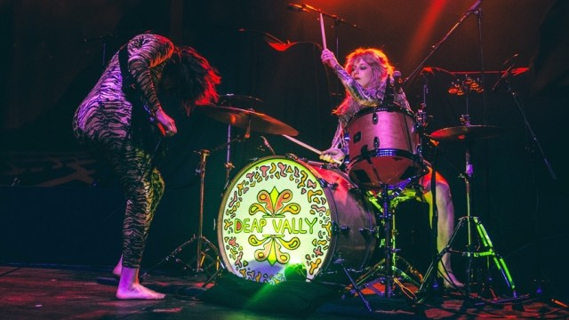 Deap Vally, last year at the Fonda Theatre (Photo by Samantha Saturday)