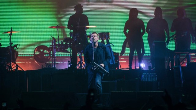 Gorillaz at the Forum (Photo by Samuel C. Ware)