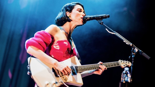 St. Vincent at Paramount Pictures Studios (Photo by Annie Lesser)