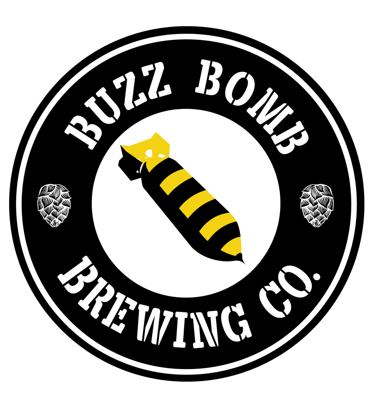 Buzz Bomb Brewing Co Logo