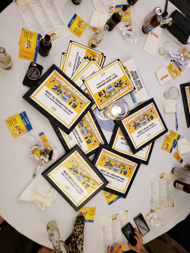 pile of awards