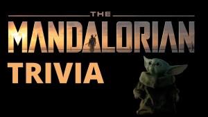 Handmade Trivia - The Mandalorian