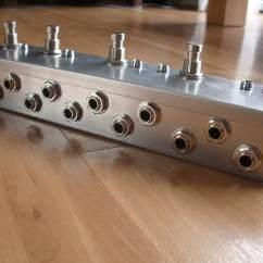 True Bypass Looper Wiring Diagram 13 Terminal Meter Socket Five Guitar Loop Pedal Board Effects Ebay