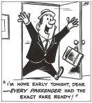 A cartoon Bob Banks drew for the March 2, 1962 Buzzer.