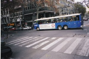 Yes, another trolley in the Mendoza system! Photo from Jorge Guevara.