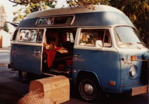 Dave's beloved VW bus. Photo from Dave's <a href=