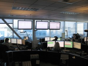 A glance at T-Comm, the Transit Communications centre out at the Surrey Transit Centre.