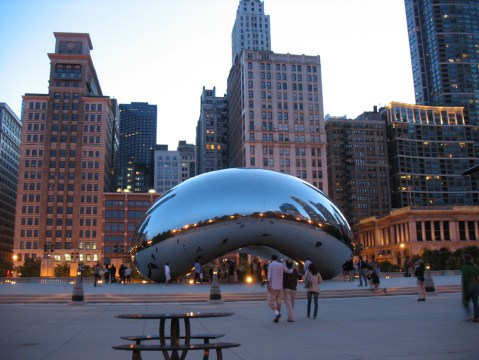 The bean, from a slightly different angle!