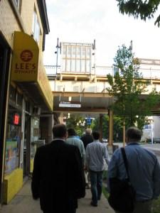 Damen Station on the Brown Line.