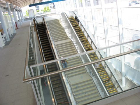 Insanely long escalator at Richmond-Brighouse Station!