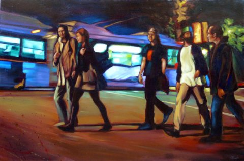Commercial Drive by Suzan Marczak.