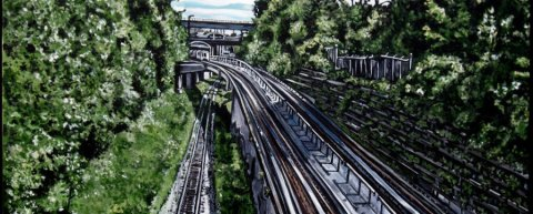 SkyTrain by Taralee Guild.