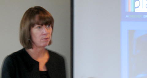 Janette Sadik-Khan, speaking at a TransLink presentation this afternoon.