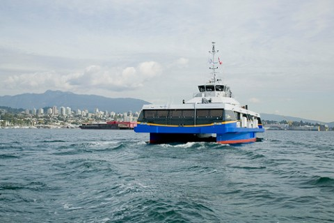 The new SeaBus! Photo by Charlotte Boychuk.