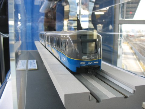 The model SkyTrain car, again!
