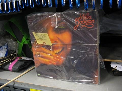 Millie Jackson records.