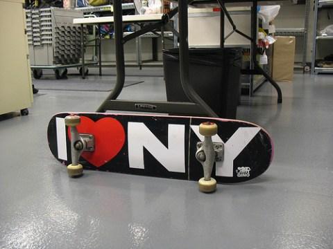 A skateboard!