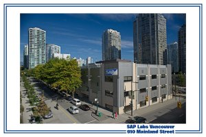 SAP's office in downtown Vancouver!