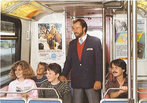 A photo from the 1986 'Join the SkyTrain team' brochure!